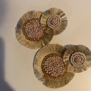 Jewelry - Statement tassel earrings